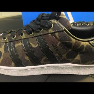 919be0ea3387 adidas Shoes - Adidas Superstar olive Camouflage BB2774 Shell toe